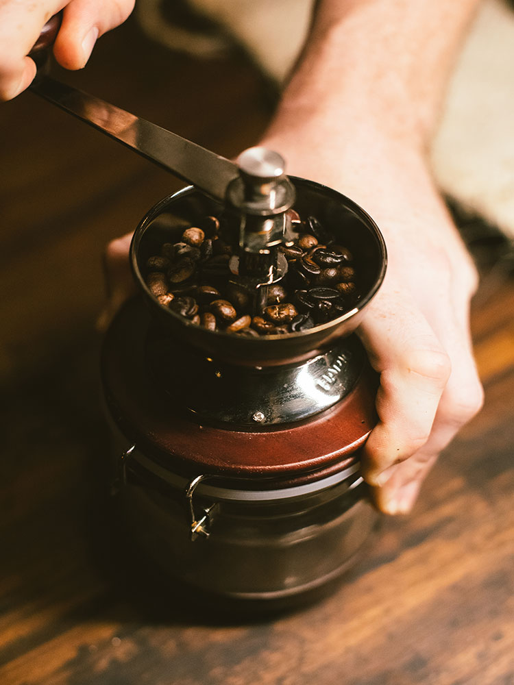 Learn to grind and appreciate coffee on our experience lead course