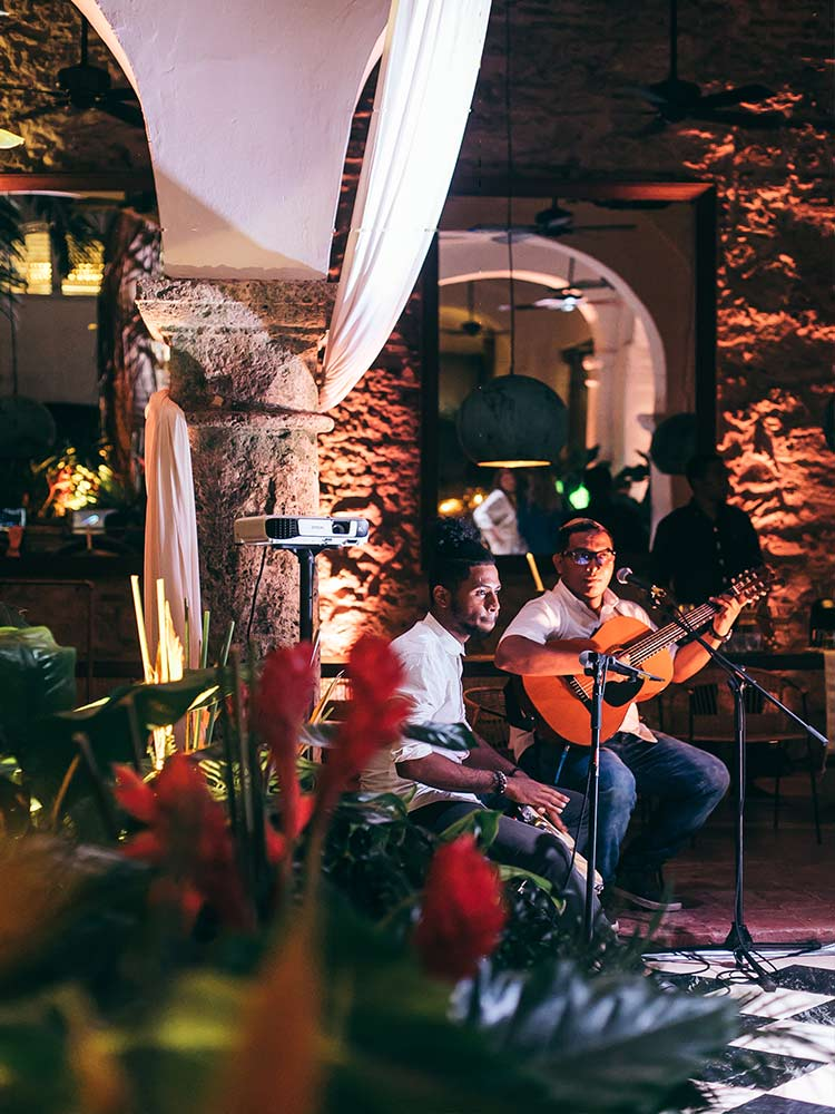 Events with music in Cartagena, colombia